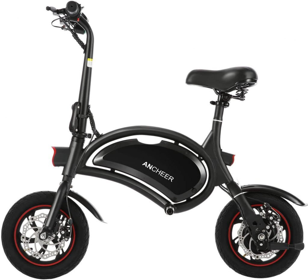ANCHEER Dolphins Smart Folding Electric Bike