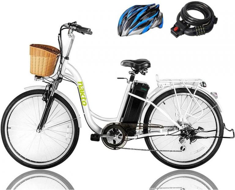 NAKTO 26'' 250W Cargo Electric Bicycle