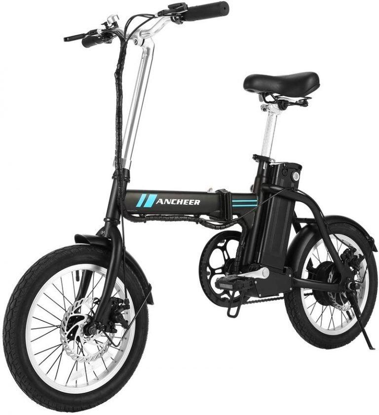 ANCHEER 16'' Folding Electric Commuter Bike