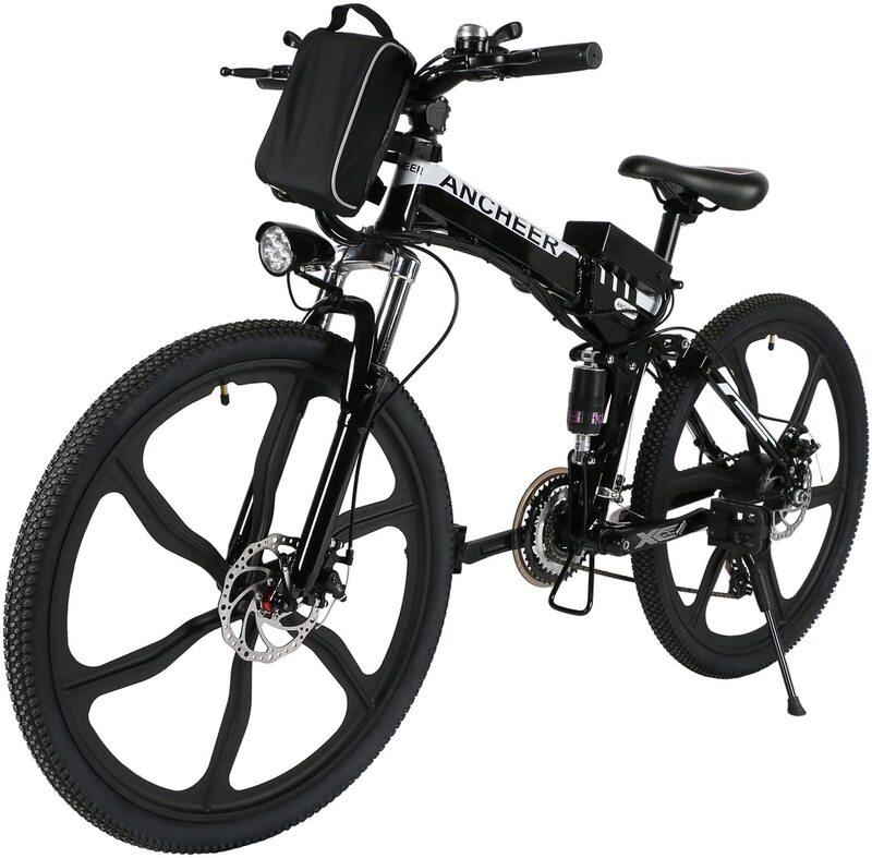 ANCHEER 26inch Folding Electric Commuting Bike