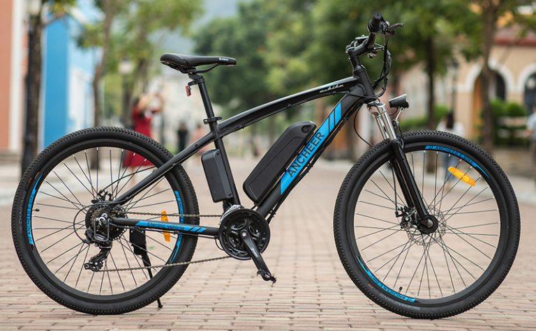 ANCHEER 500W 27.5'' Electric Mountain Bike