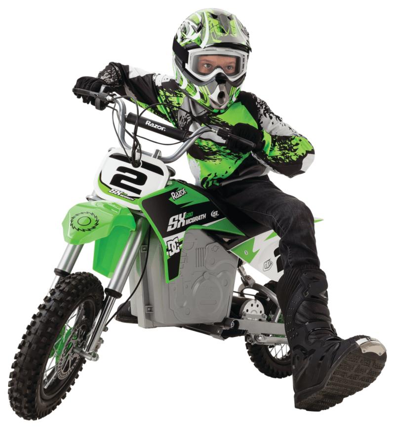 Razor electric dirt bike review sx500
