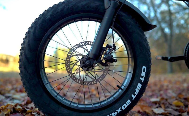 Rattan ebike lm750 disc brake
