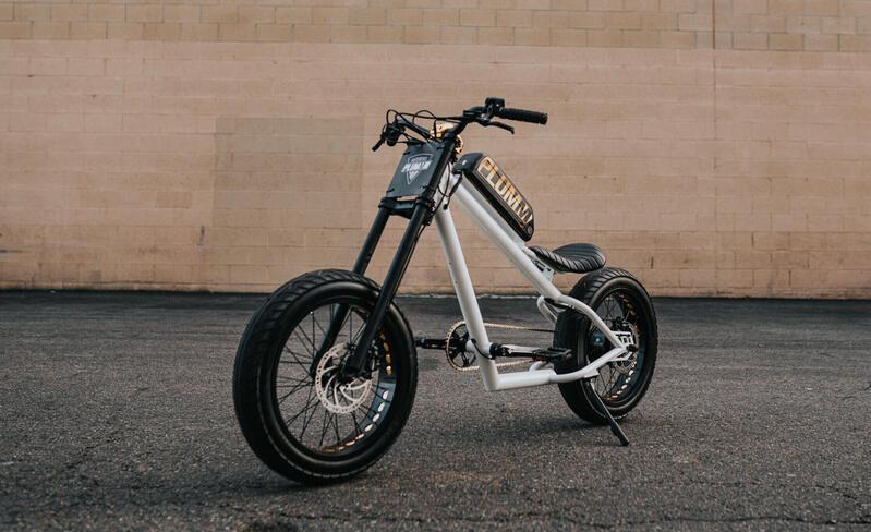 ebikezoom electric chopper bike