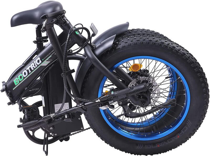 Ecotric Electric Bike FAT20810 frame