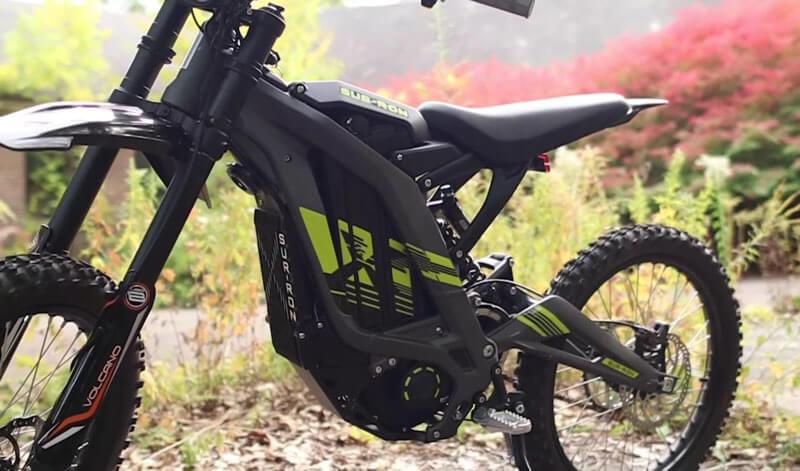 Sur Ron X bike frame