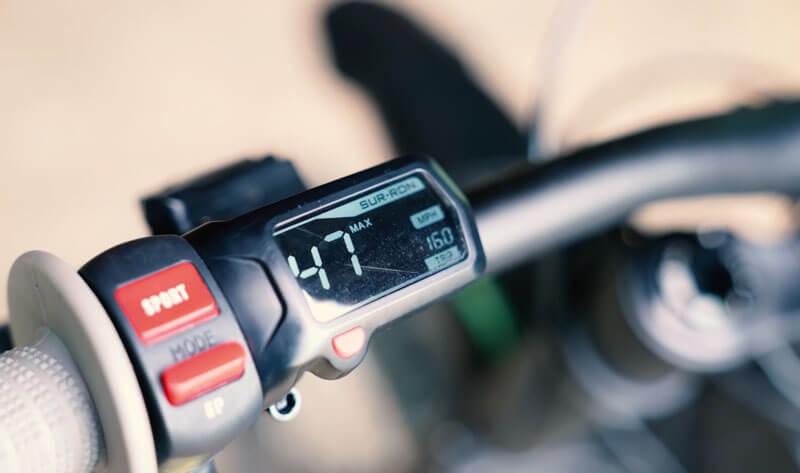 sur ron x bike lcd screen