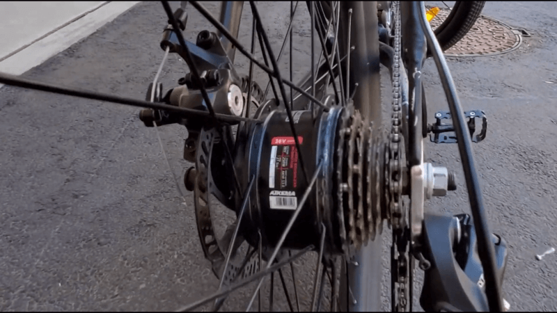 jetson electric bike hub motor