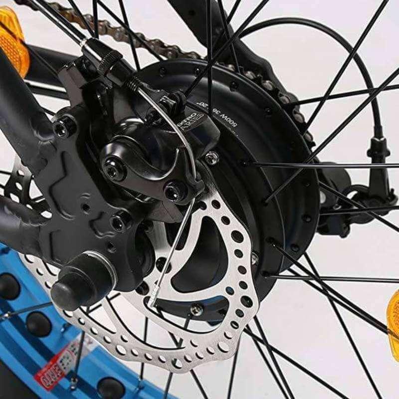Ecotric Electric Bike FAT20810 motor