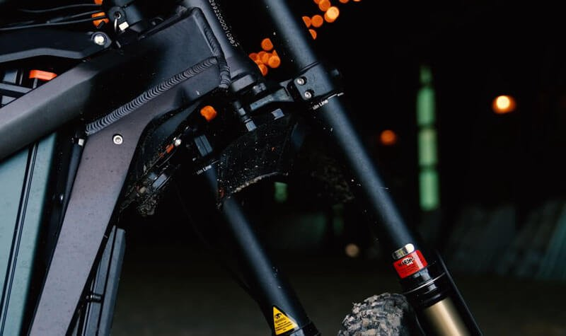 sur ron x bike front suspention