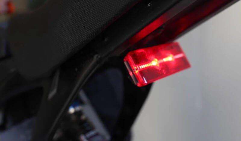 sur ron x bike tail light